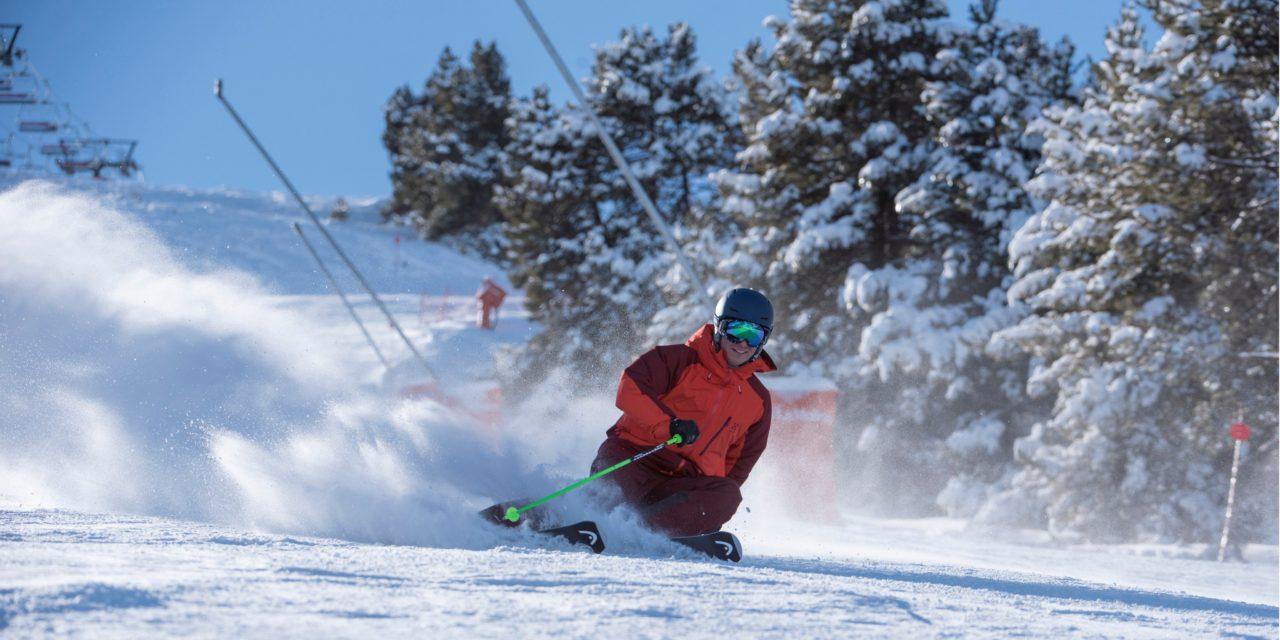 Previsió esquí alpí. Després de la nevadeta, torna el sol pel cap de setmana