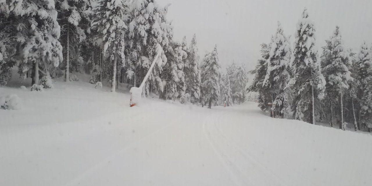 Així ha beneït de neu el temporal Glòria les estacions d'esquí