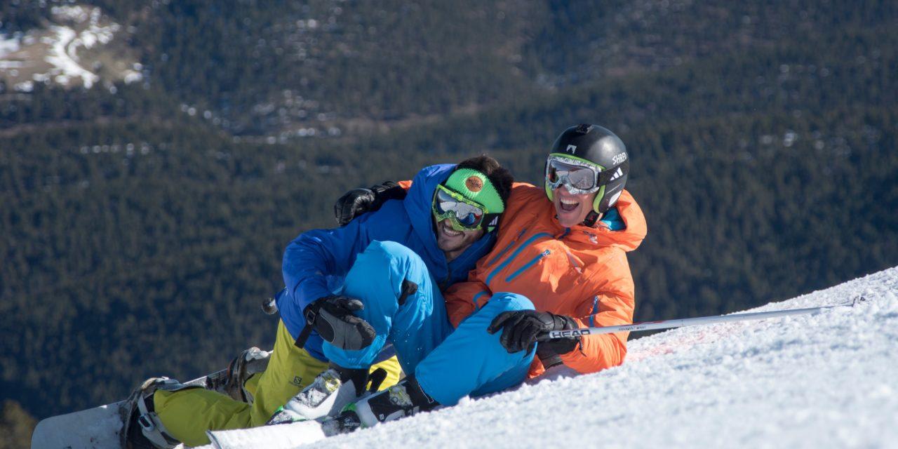 Toca gaudir de la millor neu de la temporada amb bon temps