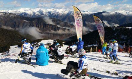 Espot Esquí acull la Copa d'Europa IPC 2020 d'esquí alpí adaptat