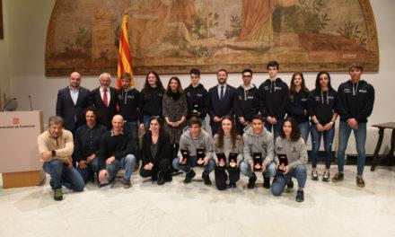 La Generalitat de Catalunya homenatja als esportistes olímpics catalans