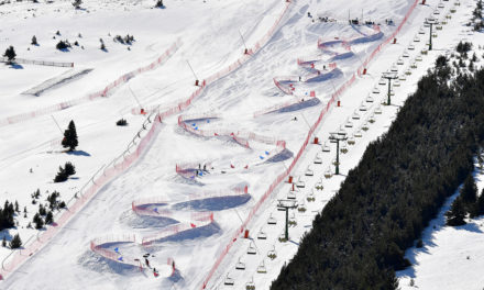 La Molina acull l'estrena mundial de la nova modalitat Dual Banked Slalom a la Copa del Món IPC de Parasnowboard