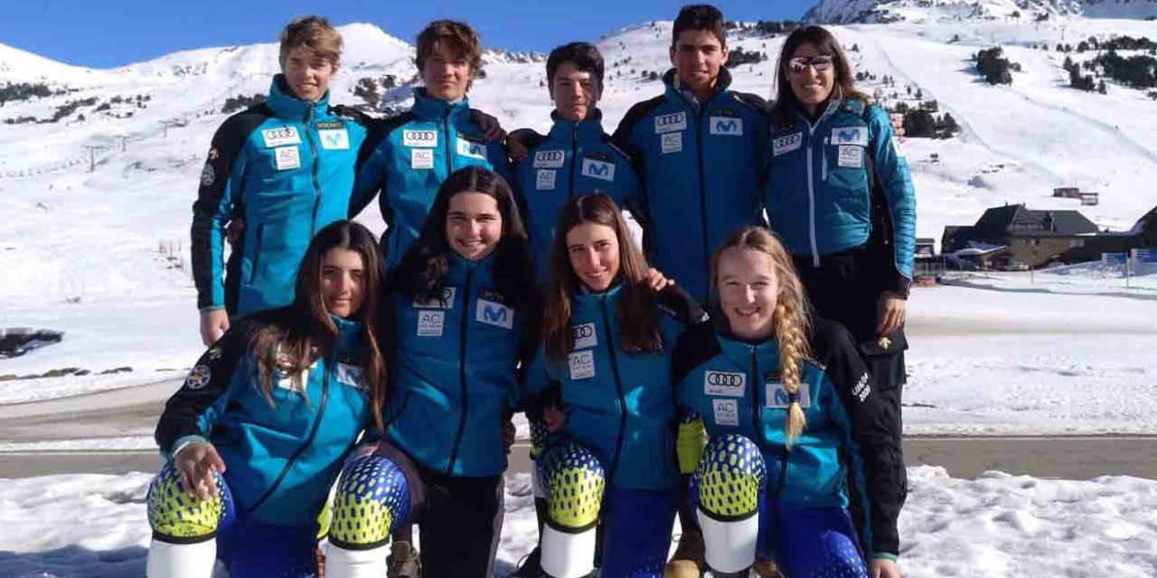 Espanya acull per primera vegada una OPA CUP U16, Campionat d'Europa Infantil, a Baqueira Beret