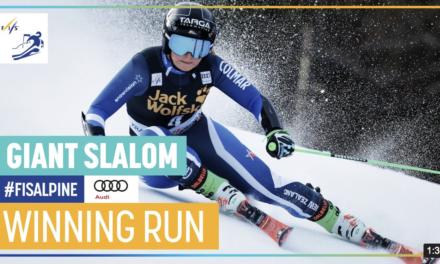 La victòria d'Alice Robinson al gegant de Kranjska Gora