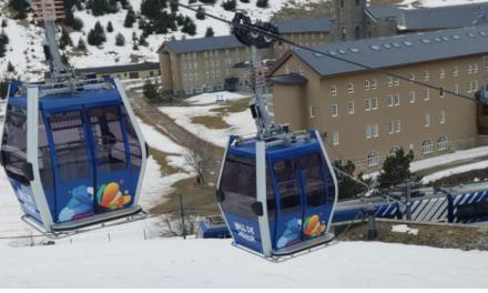 FGC recupera el servei del telecabina Coma del Clot de Vall de Núria, transformat ara en un telefèric i amb el doble de capacitat