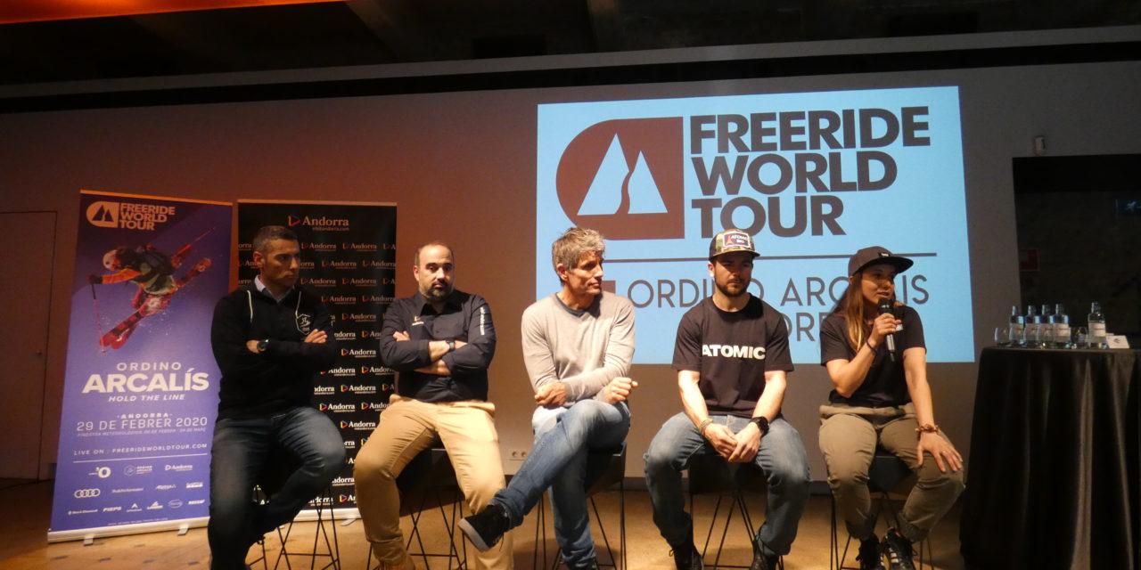 Les nevades animen el Freeride World Tour a Ordino Arcalís