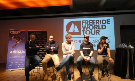 Les nevades animen el Freeride World Tour a Ordino Arcalís