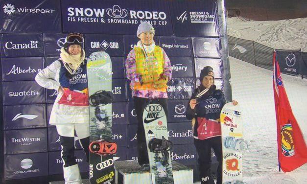 Bronze final per a Queralt Castellet a la Copa del Món de Halfpipe d'Snowboard
