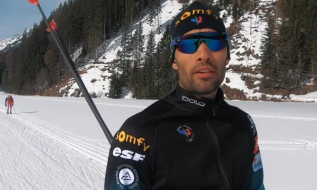 Un dia en la vida de la llegenga del biatló Martin Fourcade