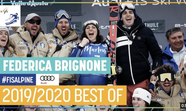 Els millors moments de Federica Brignone