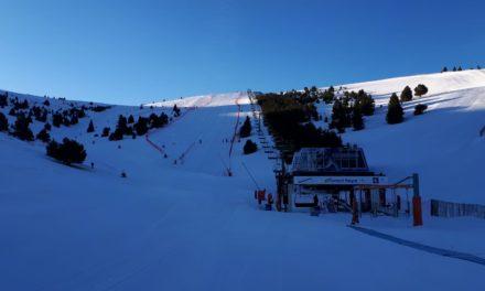 La Generalitat resol el tancament de les pistes d'esquí, d'esquí nòrdic i de les estacions de muntanya