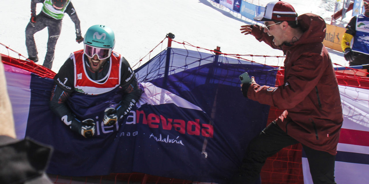 Lucas Eguibar domina, de principi a fi, la Copa del Món SBX de Sierra Nevada