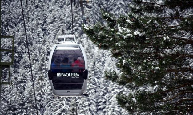 Una nevada de 40 cm a Baqueira dóna la benvinguda al 13è Trofeu d'Esquí Fundació Jesús Serra