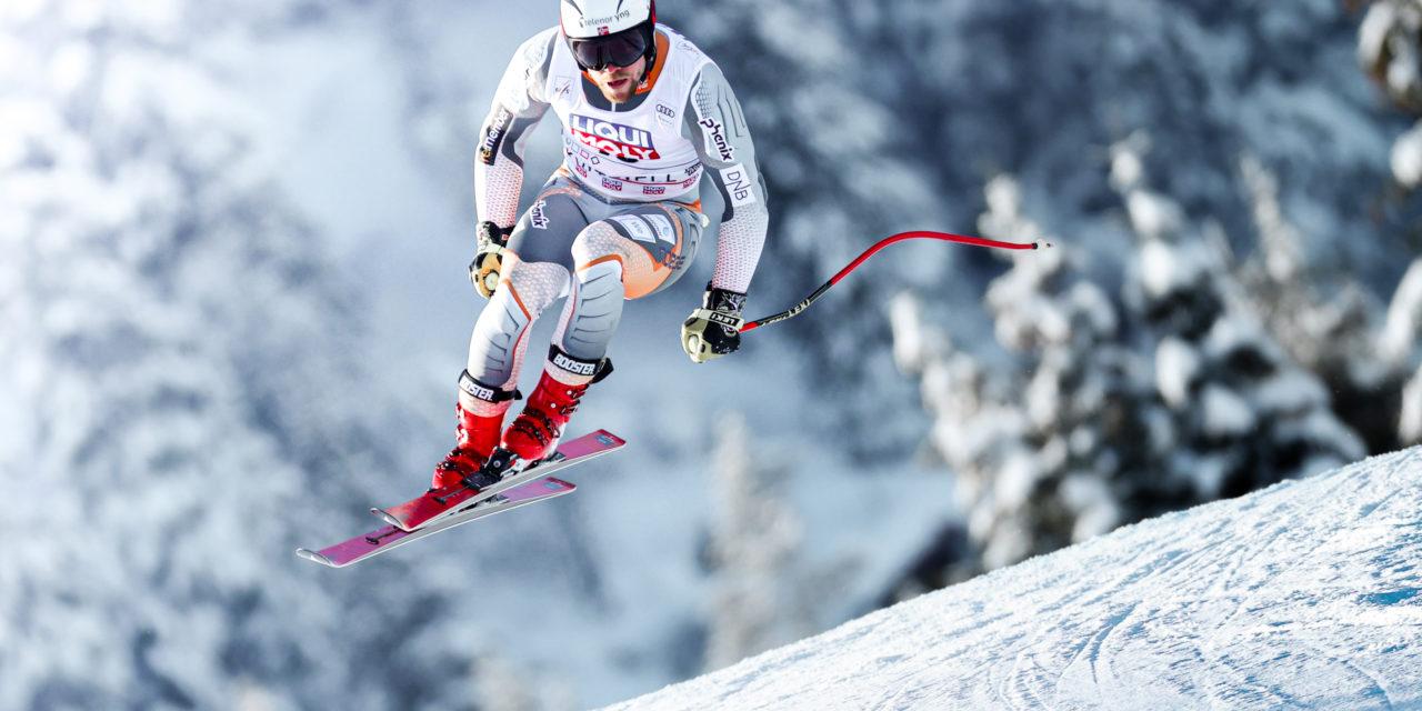 Calça't els esquís i les botes del campió de la Copa del Món Aleksander Aamodt Kilde