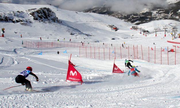 La temporada de la Copa d'Espanya Movistar d'snowboardcross i skicross, en imatges