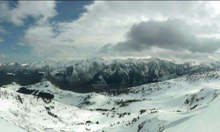 Una web permet gaudir de les últimes nevades del Pirineu Francès des de casa
