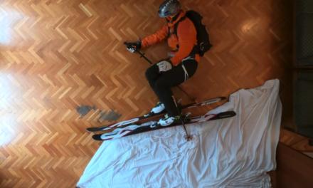 Skimetraje llança un nou premi 'Esquiadors de Saló' per animar el confinament