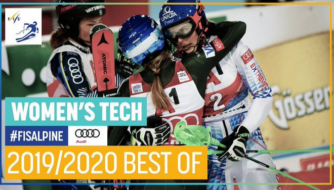 2019/2020 Season | Best Of | Women's Tech | FIS Alpine