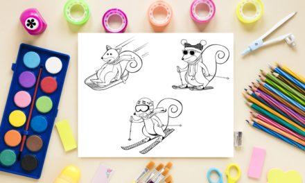 Coloreja a l'Esquirol Fajol de Valtter 2000