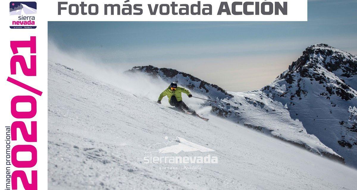 Els seguidors de Sierra Nevada trien les imatges promocionals per a la temporada hivernal