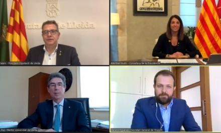 Signat el conveni per impulsar l'INEFC-Pirineus a la Seu d'Urgell