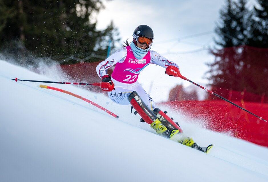 Carla Mijares, la nova sensació de l'esquí andorrà