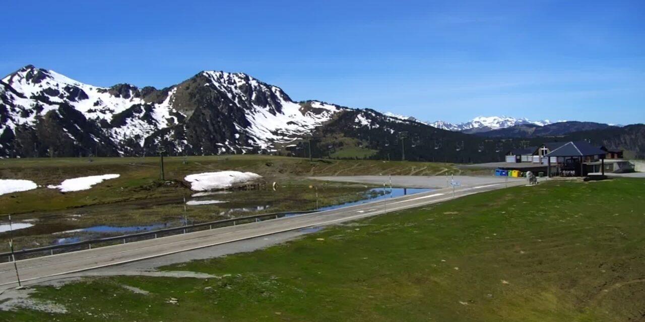 La temporada de neu ha estat deficitària al vessant nord del Pirineu
