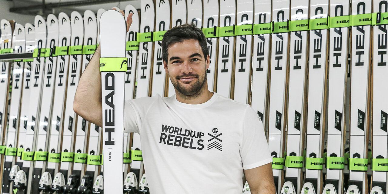 Vincent Kriechmayr és ara un World Cup Rebel de Head