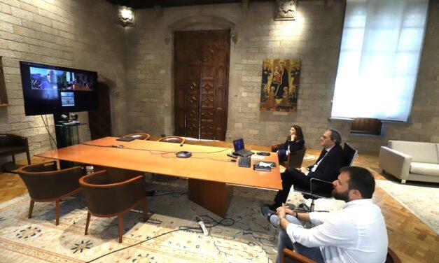 """President Torra: """"Els Jocs Pirineus-Barcelona 2030 poden ser els primers jocs verds de la història"""""""