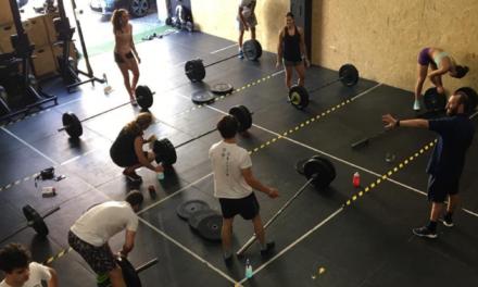 Classes d'halterofília per millorar la transmissió a l'esquí alpí