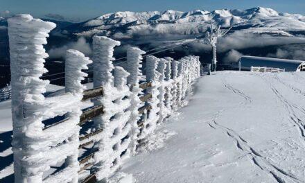 La primera gran nevada a Masella