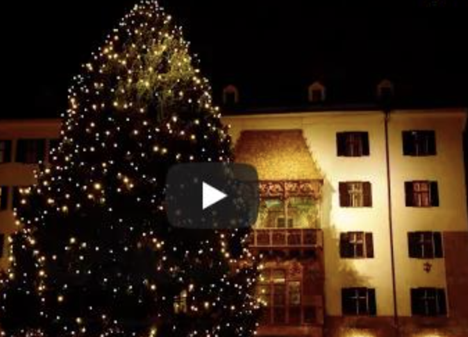 Frohe Weihnachten and Merry Christmas from Innsbruck!