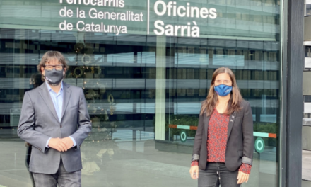FGC renova el suport a la FCEH per a la promoció conjunta dels esports d'hivern a Catalunya