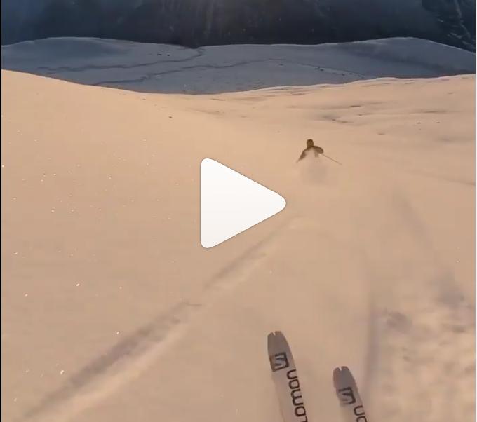 L'esquiada de Kilian Jornet aquests dies de Nadal