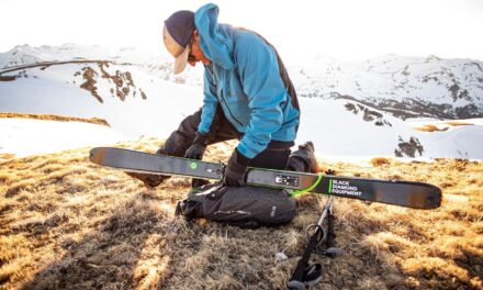 La jaqueta perfecta per a l'esquí de muntanya és de Black Diamond