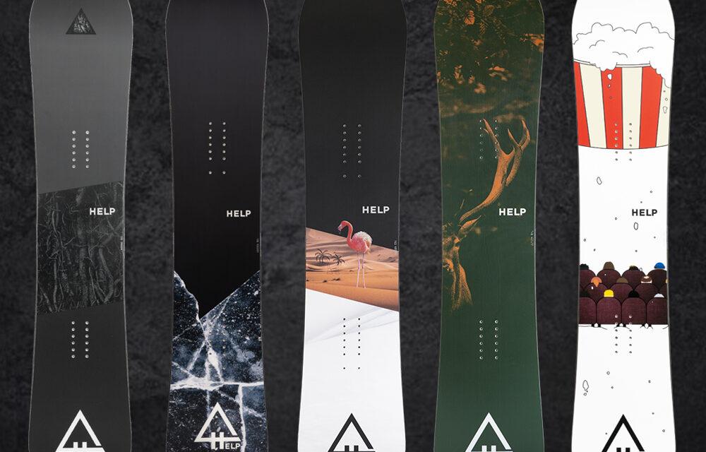 Help Snowboards, la marca de taules de surf de neu de Pirineu, llança la seva nova col·lecció