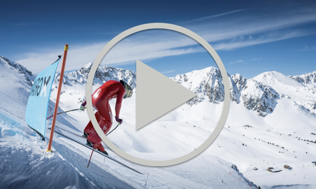 SKIING OFF A CLIFF AT 180KPH | LET'S SPEED EP4