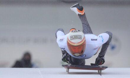Skeleton, la baixada de Top15 de Mirambell a Saint Moritz