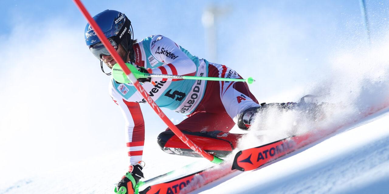 Marco Schwarz guanya l'slàlom d'Adelboden