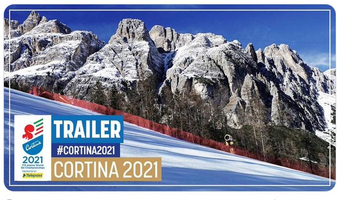 El vídeo de presentació dels Mundials de Cortina d'Ampezzo