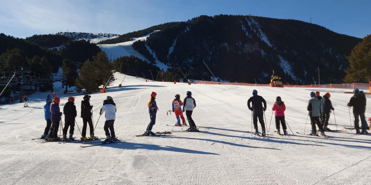 L'estat de les pistes d'esquí per aquest cap de setmana