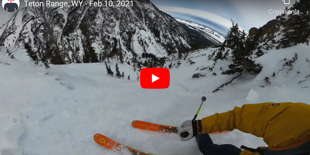 Teton Range, WY Report: A Really Rad Chute in Really Rough Snow