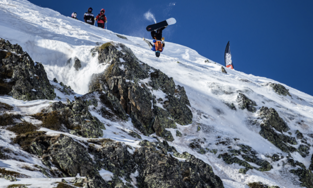Espectacular inici del Freeride World Tour a Ordino Arcalís