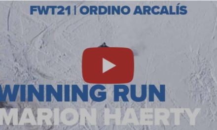 L'espectacular baixada guanyadora de Marion Haerty a Ordino Arcalís