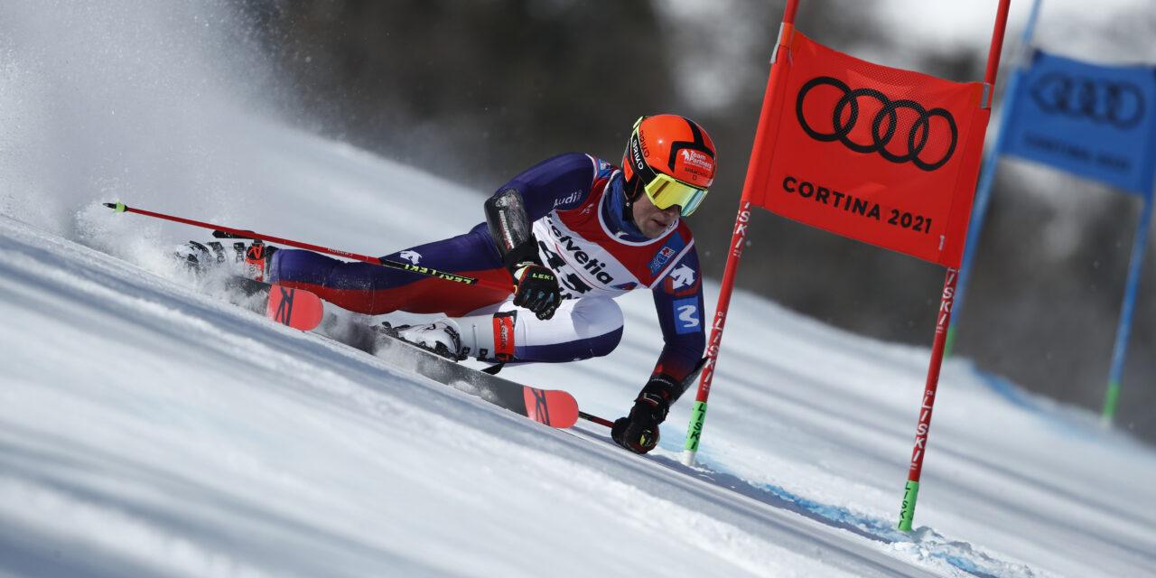 Albert Ortega completa uns espectaculars Mundials d'esquí alpí de Cortina  amb la 21a posició del gegant