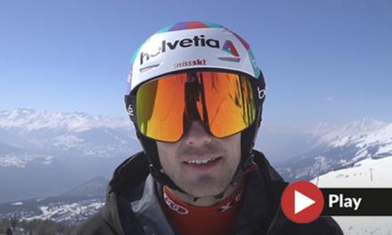Un dia d'entrenament amb l'esquiador alpí Daniel Yule