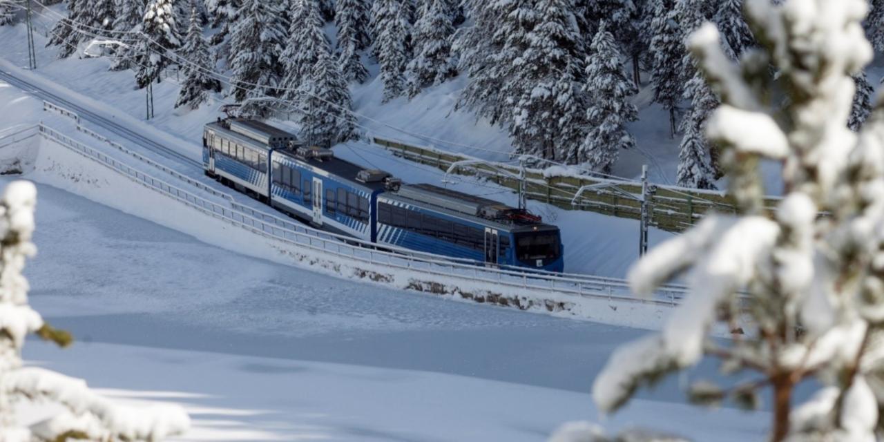 El tren Cremallera de Núria celebra 90 anys