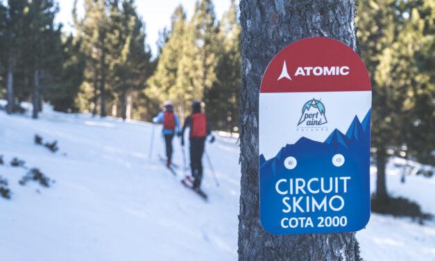 Els circuits de skimo d'Espot i Port Ainé patrocinats per Atomic
