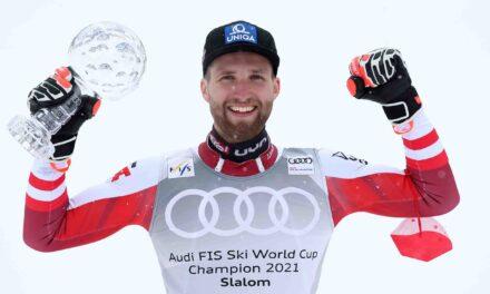 Feller tanca la temporada amb victòria a Lenzerheide i Marco Schwarz aixeca el Globus de Vidre de l'slàlom